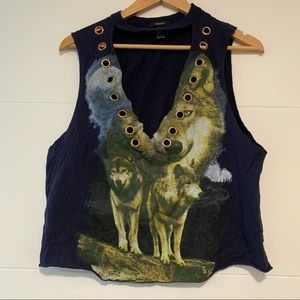 Forever 21 | Wolf Tee Shirt